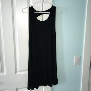 American Eagle black shift mini dress